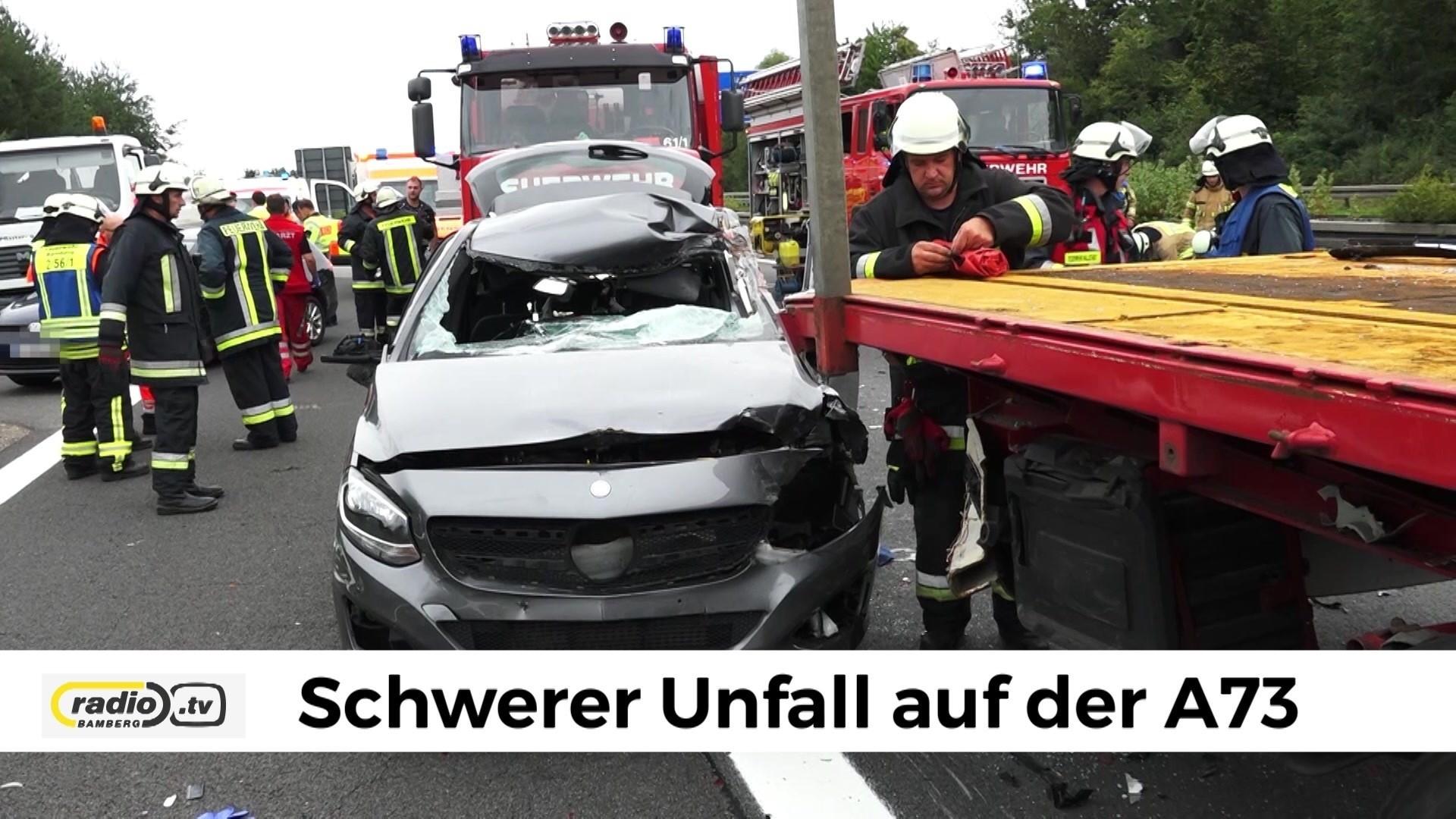 unfall a3 nürnberg heute