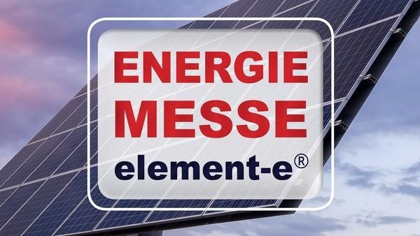 © Energiemesse element-e
