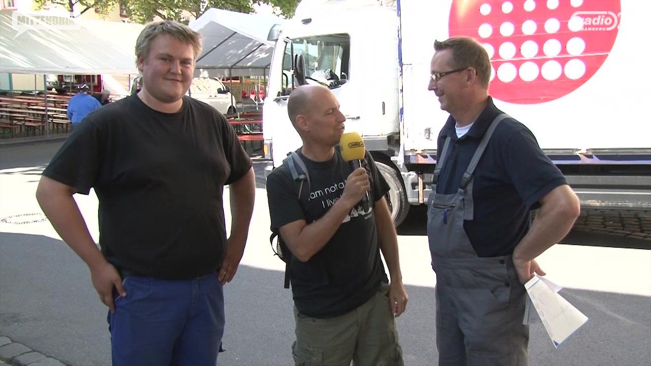Die letzten Vorbereitungen für die Sandkirchweih 2014 | Radio Bamberg